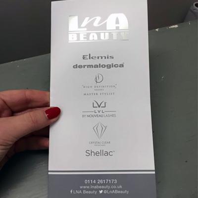 lna beauty pricelist