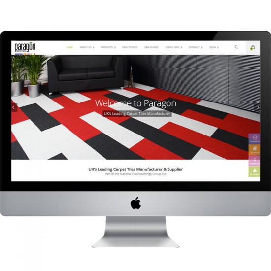 paragon carpets website