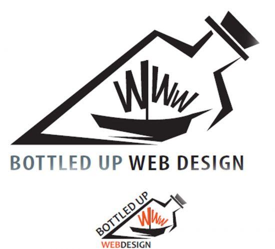 bottled up logo